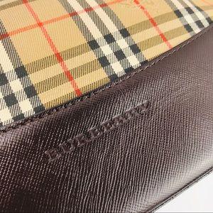 Burberry Bags - Authentic Burberry Check Brown Handbag